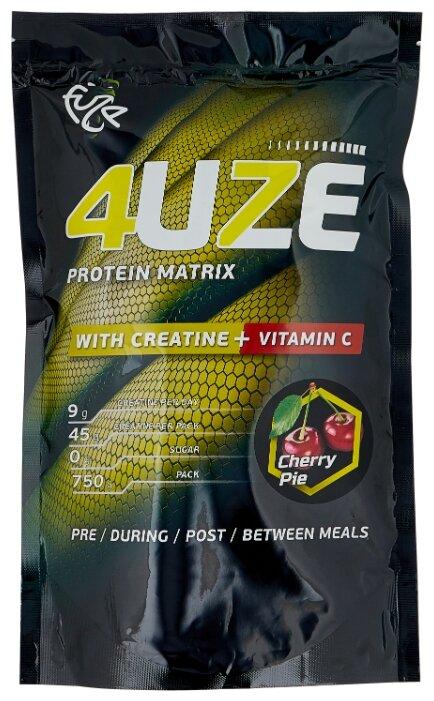Купить Протеин Fuze Protein Matrix Creatine + Vitamin C (750 г) вишневый пирог по низкой цене с доставкой из Яндекс.Маркета