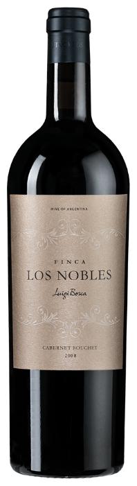 Вино Luigi Bosca Cabernet Bouchet Finca Los Nobles, 2008, 0.75 л
