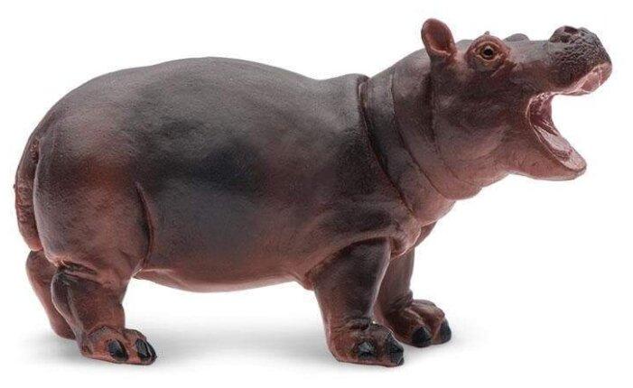 Фигурка Safari Ltd Wildlife Детёныш бегемота 270529