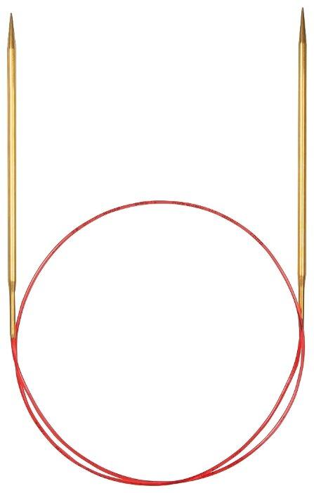 Спицы ADDI круговые с удлиненным кончиком 755-7 диаметр 4.5 мм, длина 60 см