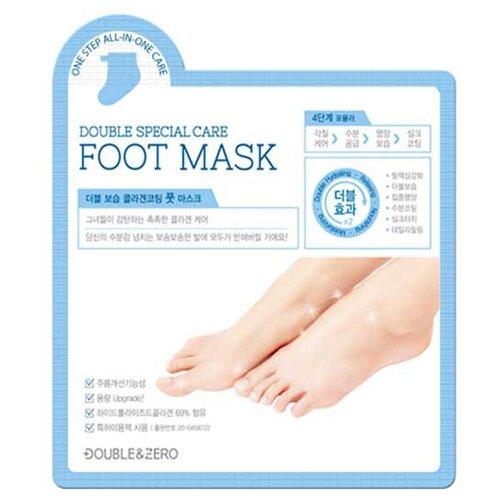 Double & Zero Маска для ног c коллагеном Double special care 20 г пакет