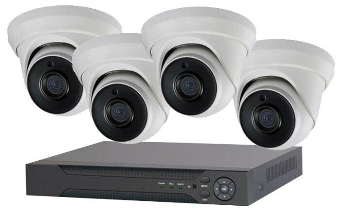 Комплект видеонаблюдения IVUE 1080P IPC D4