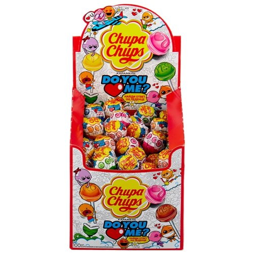 цена на Карамель Chupa Chups Do you love me? ассорти 1200 г