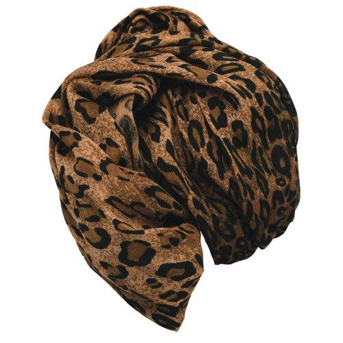 Палантин Nothing but Love 170 х 60 см коричневый/черный ремень корсет nothing but love цвет черный 203272 размер универсальный