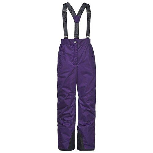 Купить Брюки Oldos Нала ASS082TPT00 размер 140, фиолетовый, Полукомбинезоны и брюки