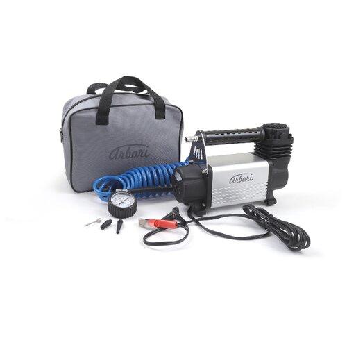 Автомобильный компрессор для накачки шин, производительность 50л/мин