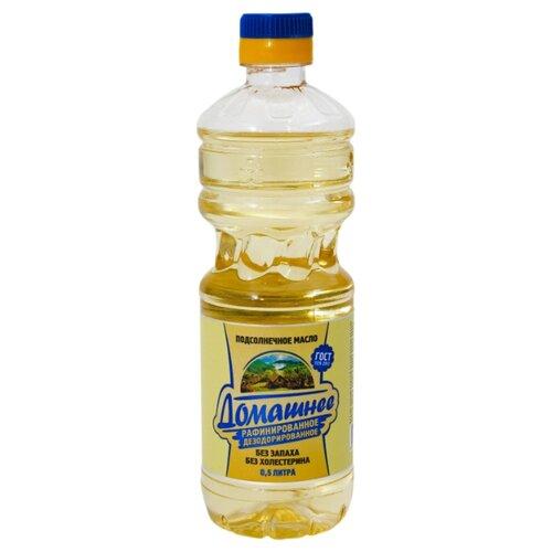 Домашнее Масло рафинированное дезодорированное 0.5 л