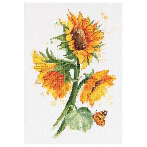 Купить PANNA Набор для вышивания Яркие подсолнухи 24 x 34.5 см (C-7136), Наборы для вышивания