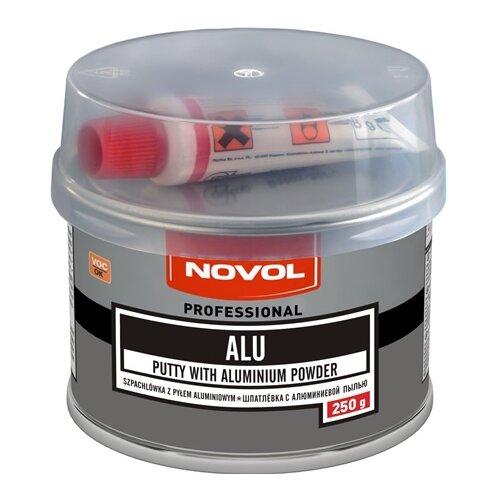 Комплект (шпатлевка, отвердитель) NOVOL ALU 0.25 кг