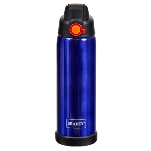 Термос- бутылка 770мл, синий