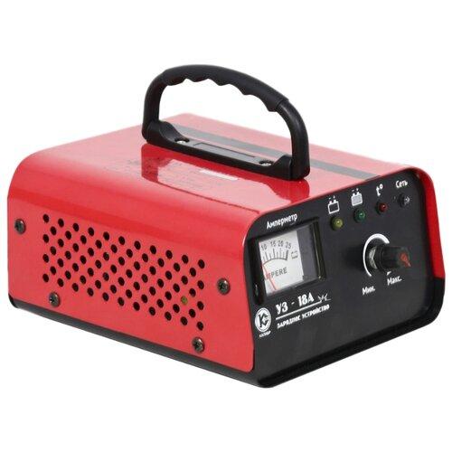 Зарядное устройство КАЛИБР УЗ-18А красный зарядное устройство калибр уз 10а