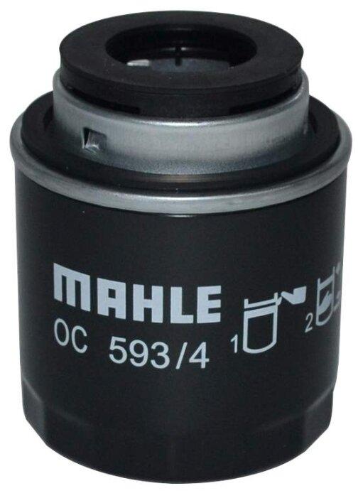 Масляный фильтр MAHLE OC 593/4