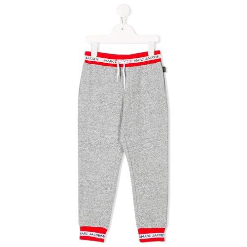 Спортивные брюки MARC JACOBS размер 128, серый ruibi ka marc rebecca тонкий брюки карандаш пригородный костюм брюки тонкие брюки 72012k темно серый код m
