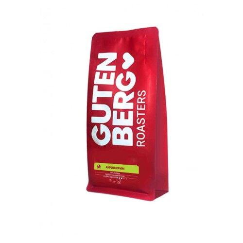 Кофе молотый Gutenberg Айришкрим ароматизированный, 250 г чай листовой gutenberg марокканский апельсин черный ароматизированный 500 г