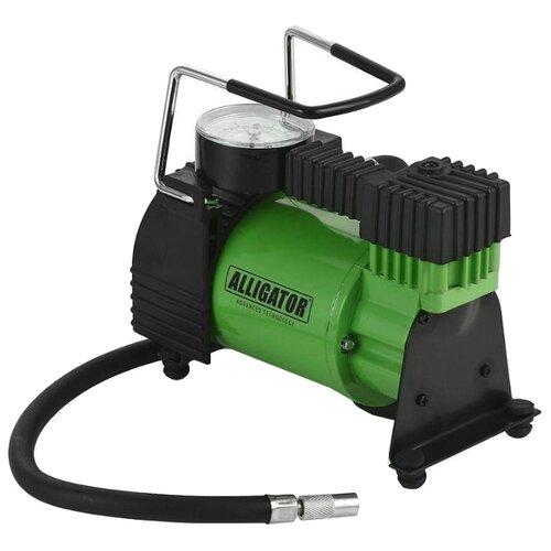 Автомобильный компрессор Alligator AL-350 зеленый