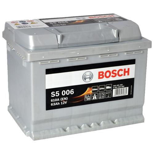 Автомобильный аккумулятор Bosch S5 006 (0 092 S50 060)