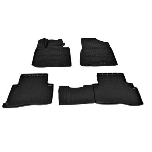 Комплект ковриков NorPlast NPA11-C43-528 Kia Sportage 4 шт. черный