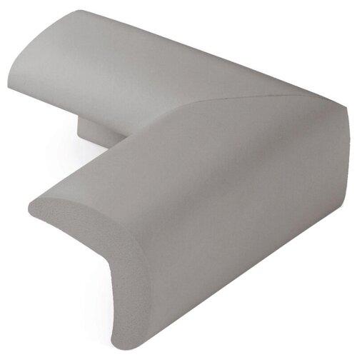 Купить Накладки на углы защитные 19013 Happy Baby серый, Аксессуары для безопасности