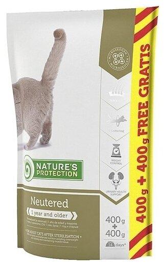Nature's Protection Корм для кошек Nature s Protection Neutered