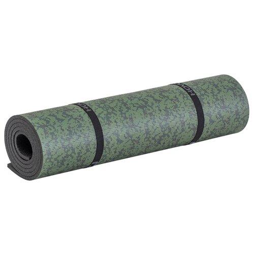 Коврик Пенолон 101E8 180х57 см, антрацит/хаки