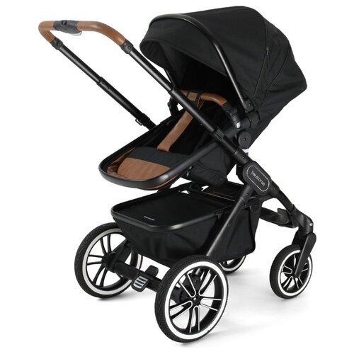 цена на Универсальная коляска Teutonia TRIO (2 в 1) urban black, цвет шасси: черный