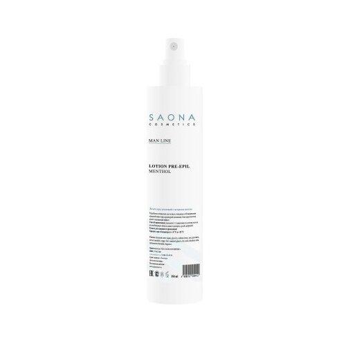 Saona Cosmetics Очищающий лосьон Man Line с ментолом 350 мл