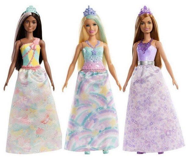 Кукла Barbie Волшебная принцесса, 28 см, FXT13 — купить по выгодной цене на Яндекс.Маркете
