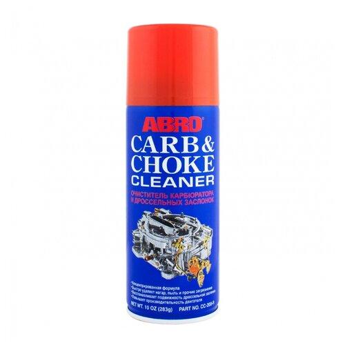 abro cb 295 цетан корректор Очиститель ABRO Carb & Choke Cleaner 0.34 кг баллончик