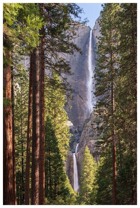Купить Фотообои PosterMarket WM-27 (Йосемитский водопад) 254x184 Ш*В по низкой цене с доставкой из Яндекс.Маркета