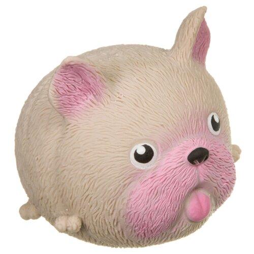 Игрушка-мялка BONDIBON Чудики Любимец Бульдог (ВВ3979) бежевый/розовый