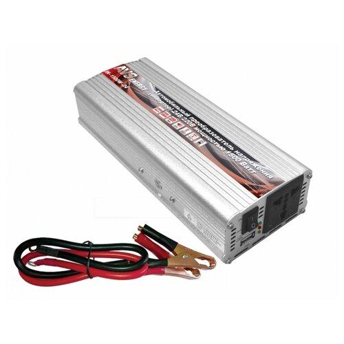 Инвертор AVS IN-1500W-24 серебристый