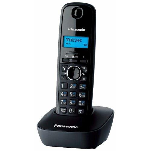 Радиотелефон Panasonic KX-TG1611 серый радиотелефон panasonic kx tg1611