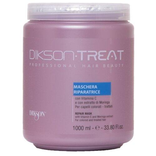 Dikson Treat Маска восстанавливающая с витамином С и экстрактом моринги для волос, 1000 мл