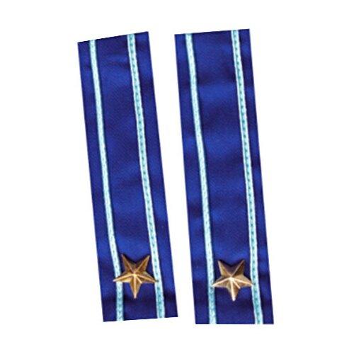 Карнавальный набор ВИНИ Погоны синие (ВК-92017), синий
