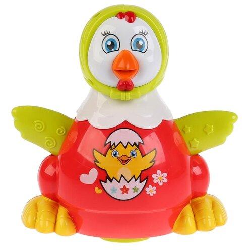 Купить Развивающая игрушка Умка Музыкальная курочка красный/зеленый/белый, Развивающие игрушки