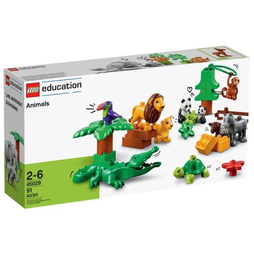 Купить Конструктор LEGO Education PreSchool DUPLO 45029 Животные, Конструкторы