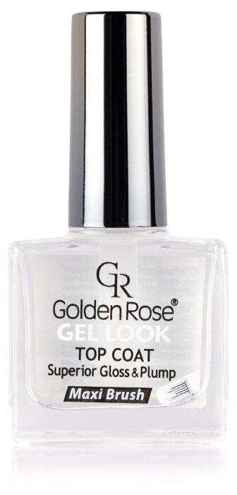 Golden Rose верхнее покрытие Gel Look Top Coat 10.5 мл
