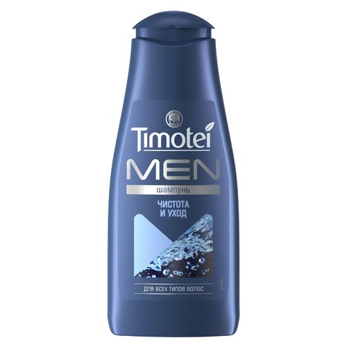 timotei шампунь интенсивное Timotei шампунь Men Чистота и уход для всех типов волос 400 мл
