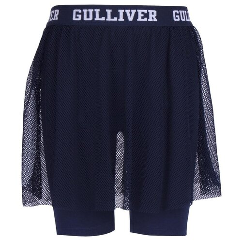 Купить Юбка-шорты Gulliver размер 122, синий, Юбки