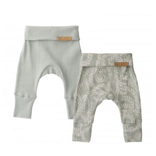 Ползунки Happy Baby размер 56, зеленый брюки happy baby baby crawlers set 90034 размер 56 зеленый белый