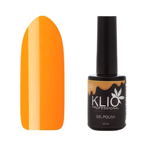 Гель-лак для ногтей KLIO Professional Фруктовое мороженное, 12 мл, оттенок №033 недорого