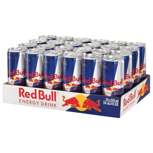 Энергетический напиток Red Bull, 0.25 л, 24 шт. drive me энергетический напиток 0 5 л