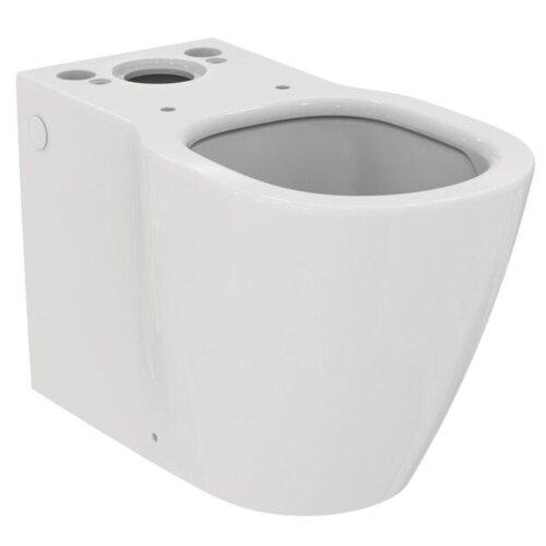 Чаша унитаза напольная Ideal STANDARD Connect AquaBlade E039701 с горизонтальным выпуском чаша унитаза напольная ideal standard tesi aquablade t007701 с горизонтальным выпуском