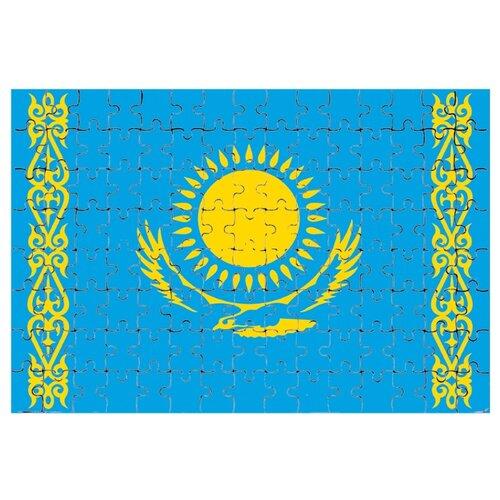 Магнитный пазл Флаг Казахстана