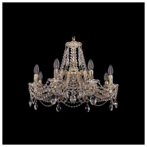 Люстра Bohemia Ivele Crystal 1771 1771/8/190/C/GW, E14, 320 Вт бра bohemia ivele crystal 1610 1610 3 gw