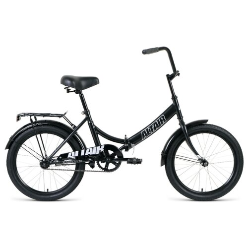 Городской велосипед ALTAIR City 20 (2020) черный 14 (требует финальной сборки) велосипед двухколесный altair city 20 колесо 20 рама 14 белый