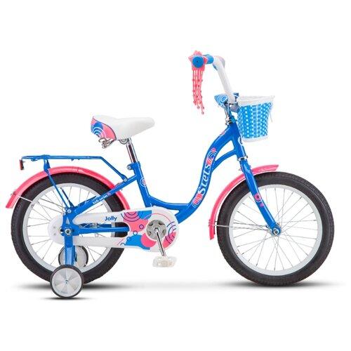 """Детский велосипед STELS Jolly 16 V010 (2020) синий 9.5"""" (требует финальной сборки)"""