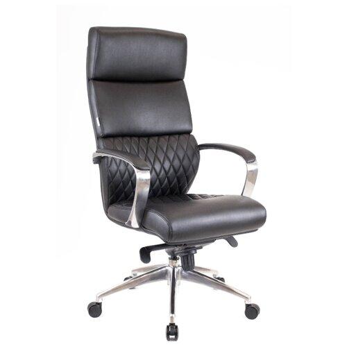 Фото - Компьютерное кресло Everprof President для руководителя, обивка: искусственная кожа, цвет: черный компьютерное кресло everprof trend tm для руководителя обивка искусственная кожа цвет черный