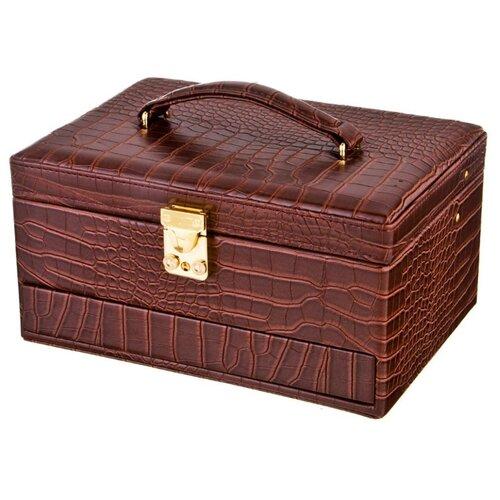 цена Lefard Шкатулка для украшений, 362-106 коричневый онлайн в 2017 году