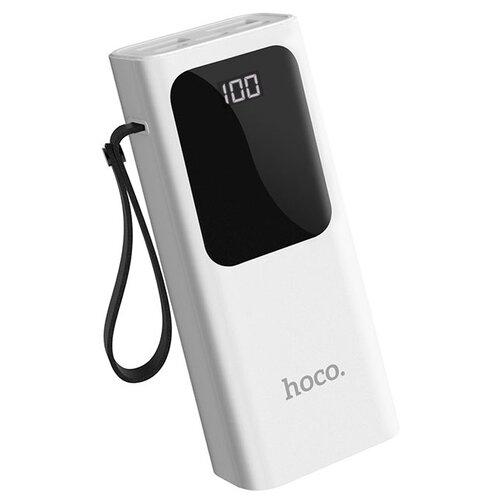Аккумулятор Hoco J41 Treasure 10000mAh, белый аккумулятор hoco j56 sea power 10000mah белый